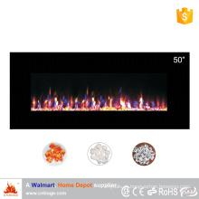 """2016 novo design 50 """"aquecedor elétrico montado na parede da chaminé"""