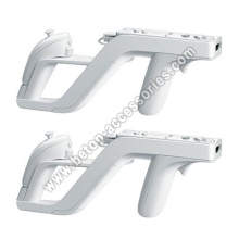 White Zapper Gun For Nintendo Wii Remote Wii mote Controlle