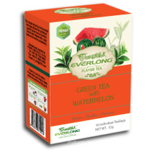 Watermelon Flavored Green Tea Pyramid Tea Bag Premium Blends Organic & EU Compliant (FTB1501)