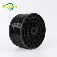 Polyester wire 2.5mm black high strength poly wire
