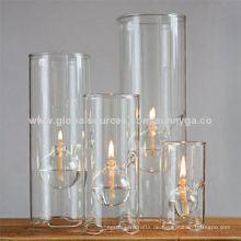 Unterschiedliche Größe Borosilikatglas Öllampe