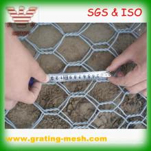 Boîte galvanisée de Gabion / grillage hexagonal / maille en métal de Gabion