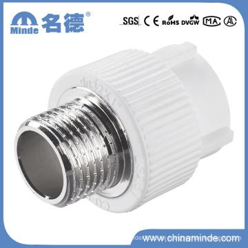 PPR-männlicher Adapter-Art D-Anpassung für Baumaterialien
