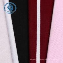 Tela de spandex de rayón de punto jersey a rayas