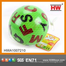 "Funny stress ball 6 ""bola inflável pequena bola de praia pvc"
