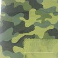 100% Baumwolle gebürstet Camouflage Design Bedruckter Flanellstoff