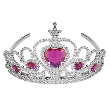 Tiaras with Heart Stones for Girls