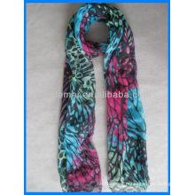 Echarpe femme, foulard imprimé, écharpe palestine