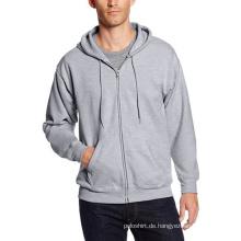 Männer Full-Zip Fleece Hoodie
