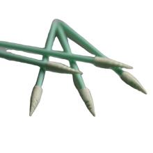 Headset-Reinigung Spiral-spitzer Reinraum-Schaumtupfer
