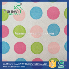 Supply Recycled PET (RPET) Stitchbond non woven fabric for Bags