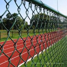 Clôture de liaison en chaîne revêtue de PVC pour le marché canadien