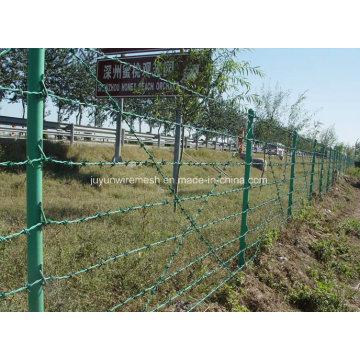 Alambre de púas de alta resistencia a la tracción de fábrica