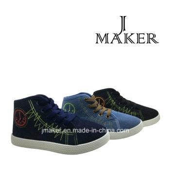 Manufacture Classic Blank Canvas Shoes for Children (JM2078-B)