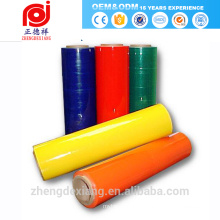 new hot blue nail foil multi color laminating roll mylar (pet) reflective polyester film for inkjet printing net wrap prices