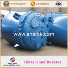 Reactor alineado de cristal del recipiente de alta presión El tanque de reacción químico Withtop la calidad