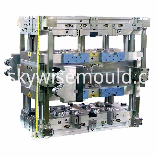 Cap plastic injection mold
