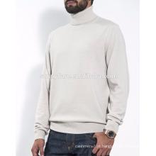Hot Selling Fit Men Suéter de caxemira puro