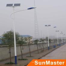 Luces solares al aire libre