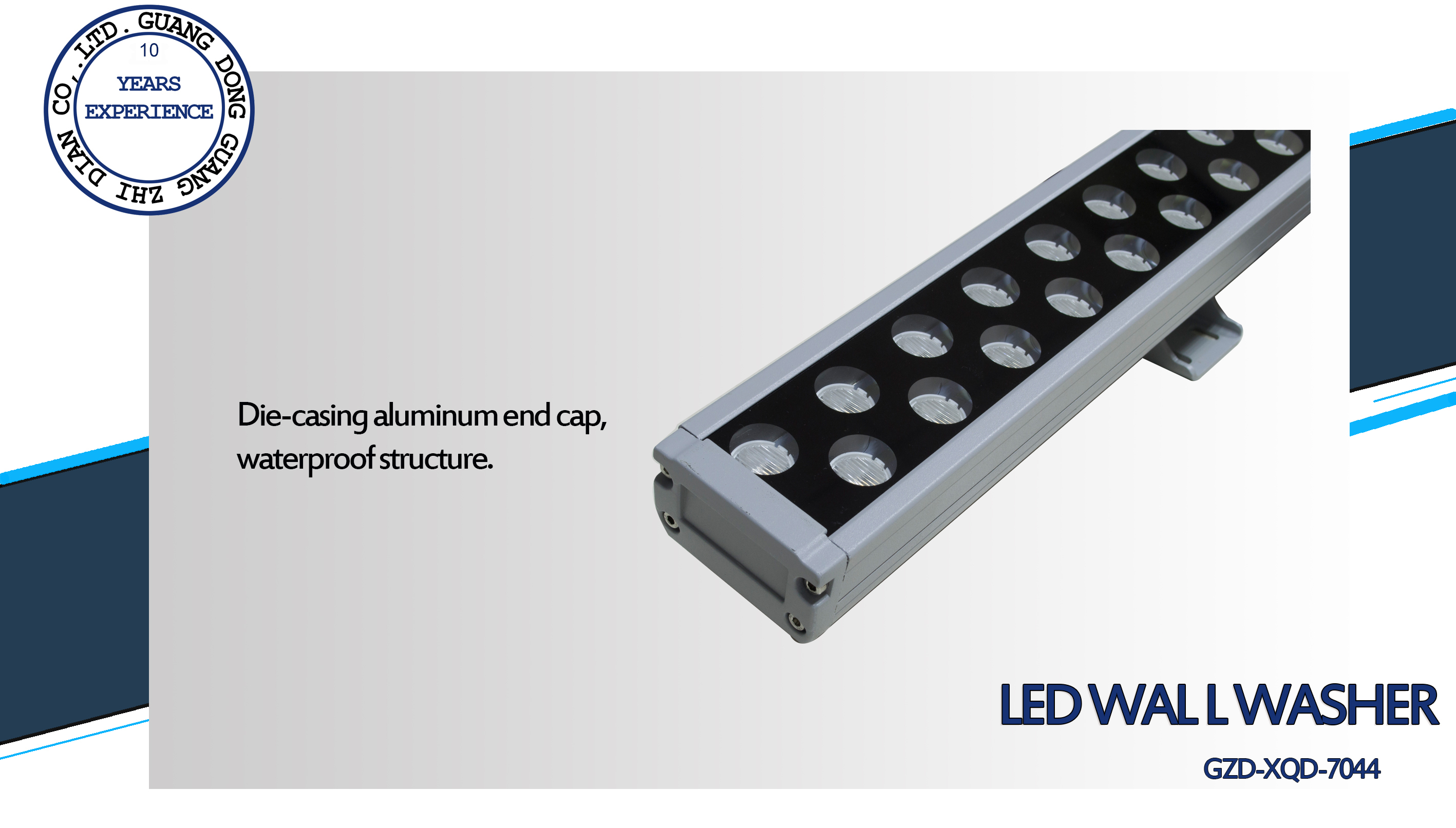 2 led wall washer