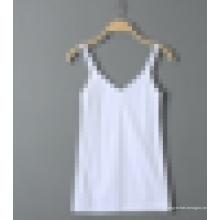 Última moda sexy sem costura decote para senhoras