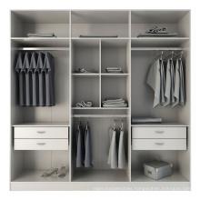 2020 Factory direct sale modular PVC veneer wardrobe bedroom