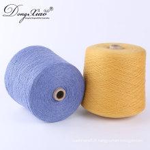 Fil de chaussette épais professionnel de cachemire pour tricoter des ventes chaudes au marché de Mexico