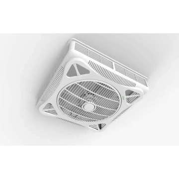 14 '' ventilador de teto plástico novo do refrigerador elétrico com diodo emissor de luz