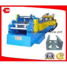 C Purlin Machine with Pre-Cutting and Pre-Punching