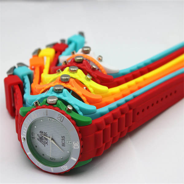silicone oem jelly watches top rand 2015