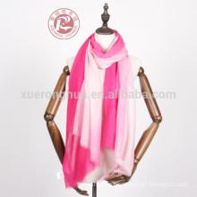 thin wool handmade scarves like silk scarf