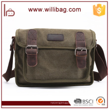 High Quality Leisure Shoulder Bag For Men Canvas Messenger Bag