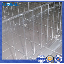 galvanized wire divider compatible of wire shelving/heavy duty wire decking accessories