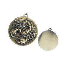 Metal Crafted Bronze Metal Medal
