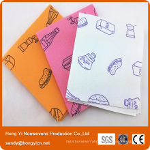 Lint Free Nonwoven Fabric Cloth, Needle Punched Cleaning Cloth