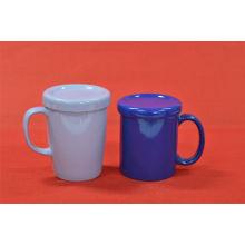 Grey Blue Cup com tampa