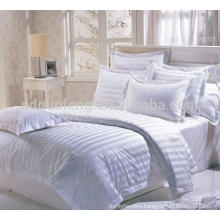 """200tc wholesale 110"""" extra wide 100% cotton sateen fabric for making bed sheets in roll , hotel bedding fabric"""