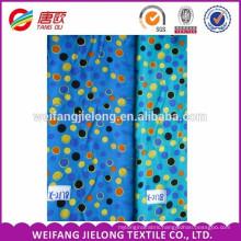 Printed Rayon nylon spandex bengaline fabric with elastic for pants