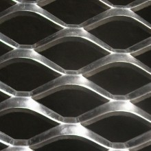 SS304 SS316L Expanded Metal Mesh