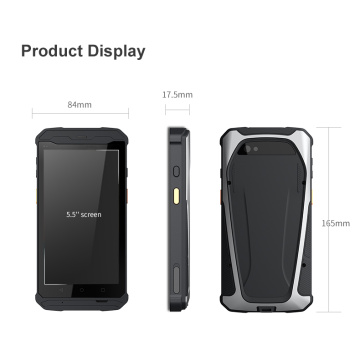 Android tragbarer 2D-Barcode-Acanner-Handheld-PDA