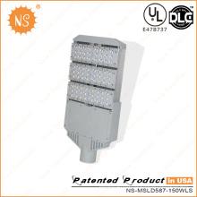 UL Dlc 110lm/W Outdoor 150W LED Street Pole Lights