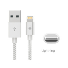 Mfi Metal Braided Lightning Cable