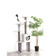 Fashion Comfortable Affordable And Durable Wholesale Pet Climbing Cat Tree Natural
