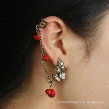Girl's Ear Cuff Wholesale Rhinestone Ear Clip charm earring EC68