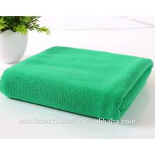 Green Microfiber Bath Towels