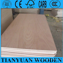 Madera contrachapada de 5 mm Okoume / madera contrachapada barata del embalaje