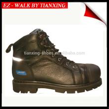 Gute Qualität Sicherheitsschuhe mit echtem Leder und Stahlkappe
