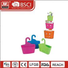 plastic basket w/hook