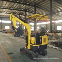 1.5Ton hydraulic excavator mini tractor