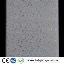 White Design Hotstamp PVC Panel PVC Ceiling 25cm